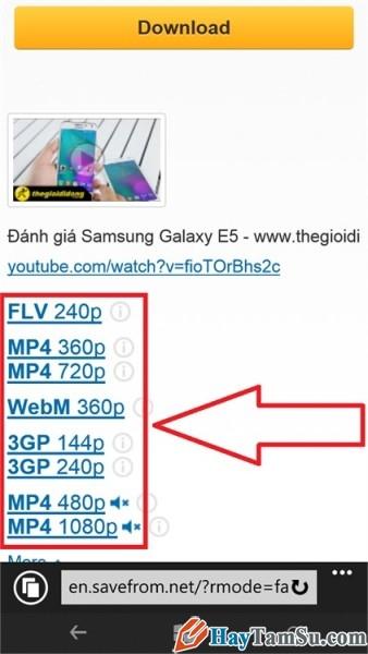 tải youtube trên windows phone - hình 3