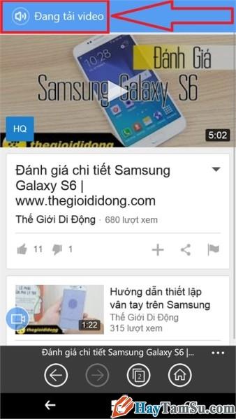 tải youtube trên windows phone - hình 11