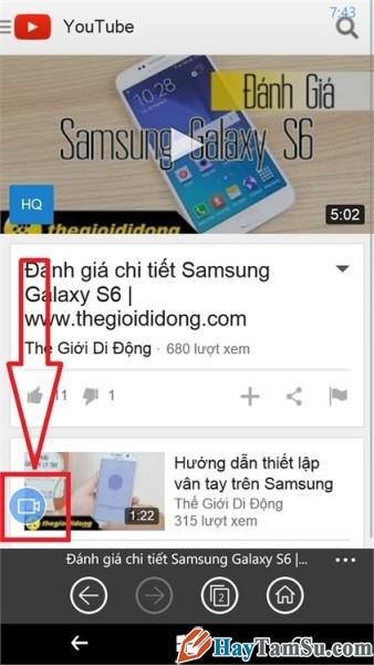 tải youtube trên windows phone - hình 12