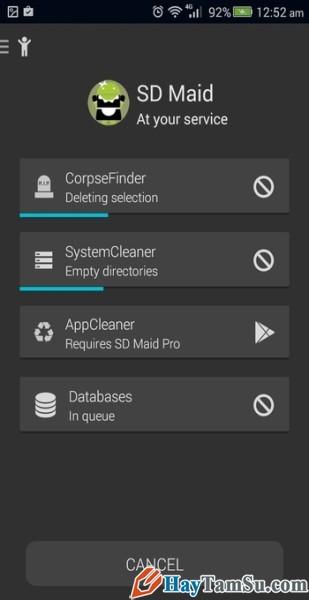 Hình 6 - Tăng tốc độ thiết bị Android với top 3 phần mềm dọn dẹp rác