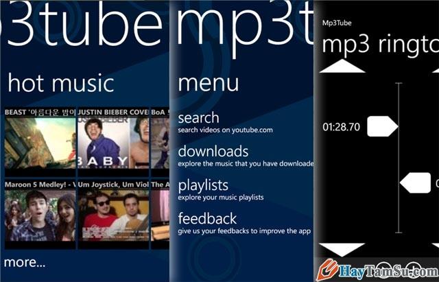 Hình 7 - Những ứng dụng xem Youtube tốt nhất cho Windows Phone