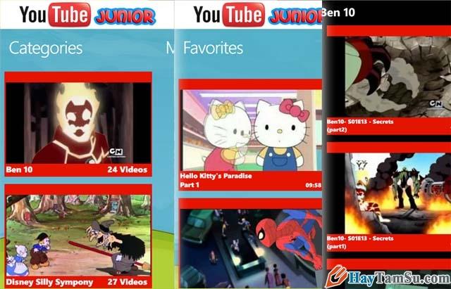 Hình 8 - Những ứng dụng xem Youtube tốt nhất cho Windows Phone