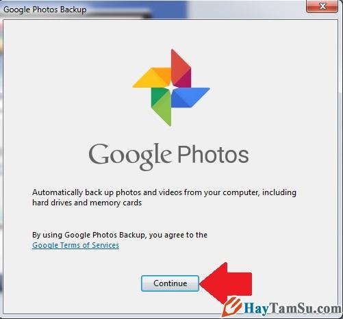 Hình 5 - Cách cài đặt ứng dụng Google Photos trên máy tính