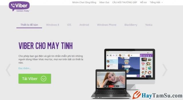 Hình 4 - Cách cài đặt Skype, Line, Viber trên máy tính