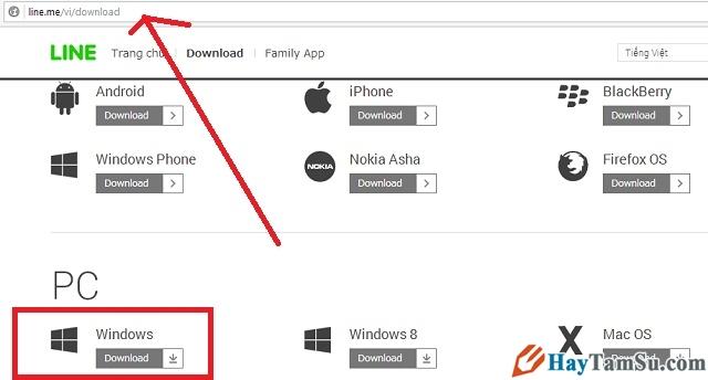 Hình 7 - Cách cài đặt Skype, Line, Viber trên máy tính