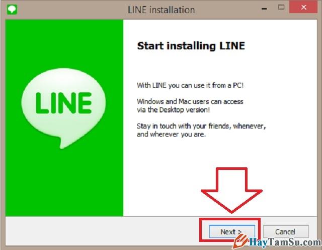 Hình 8 - Cách cài đặt Skype, Line, Viber trên máy tính