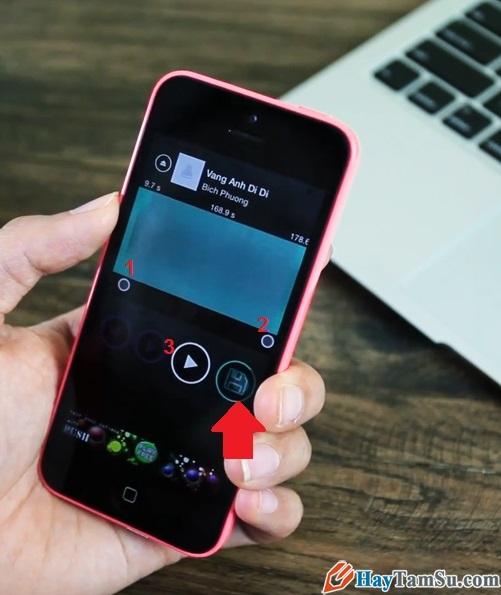 Hình 6 - Hướng dẫn cách cắt, tạo nhạc chuông trên iPhone, iPad