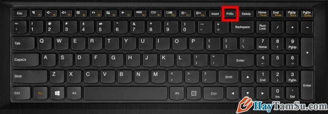 Hình 4 - Cách chụp màn hình cho máy để bàn, laptop và PC