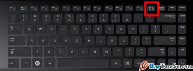 Hình 5 - Cách chụp màn hình cho máy để bàn, laptop và PC