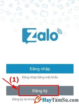 Hình 2 - Hướng dẫn đăng ký và tạo tài khoản Zalo