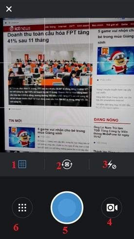 Hình 3 - Cách sử dụng phần mềm chụp và chia sẻ ảnh Instagram