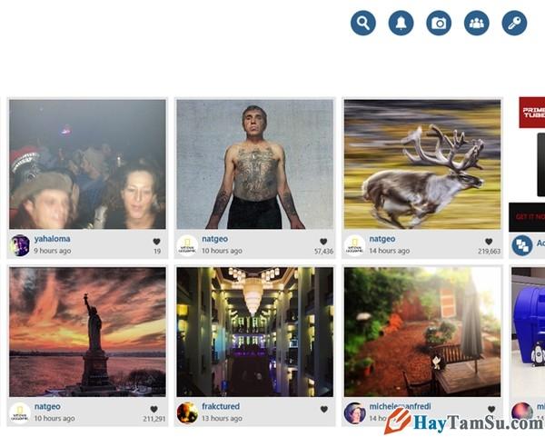 Hình 2 - Cách sử dụng Instagram trên máy tính dễ nhất