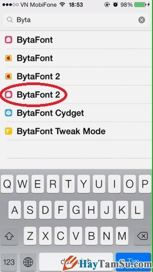 Hình 2 - Hướng dẫn tải font chữ cho iPhone, iPad