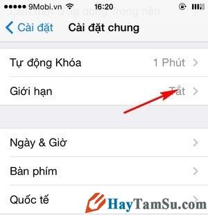 Hình 4 - Hướng dẫn thay đổi tài khoản iCloud trên iPhone, iPad
