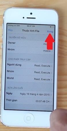 Hình 7 - Cách ngăn iPhone lock đòi cập nhật phiên bản iOS mới nhất