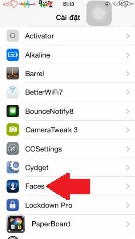 Hình 2 - Thay bàn phím số PassCode bằng hình ảnh trên iPhone, iPad