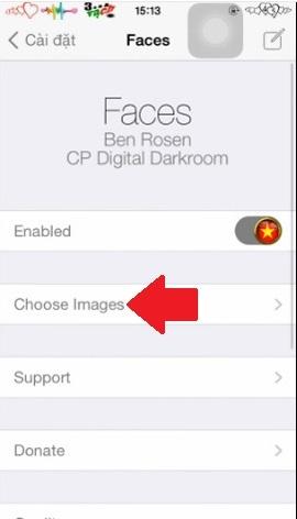 Hình 3 - Thay bàn phím số PassCode bằng hình ảnh trên iPhone, iPad