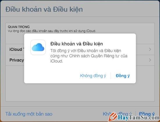 Hình 5 - Cách đăng nhập iCloud trên máy Windows, Mac và Web