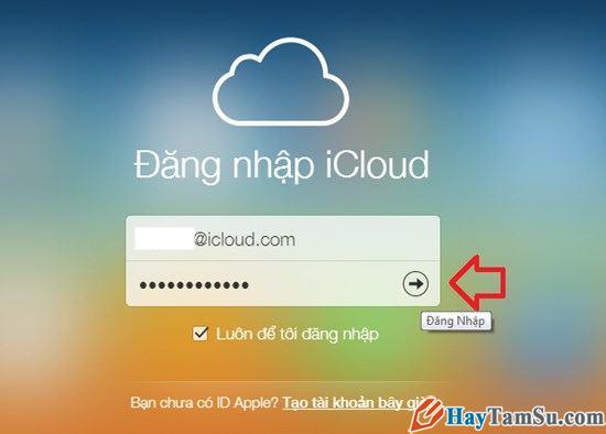 Hình 4 - Cách đăng nhập iCloud trên máy Windows, Mac và Web