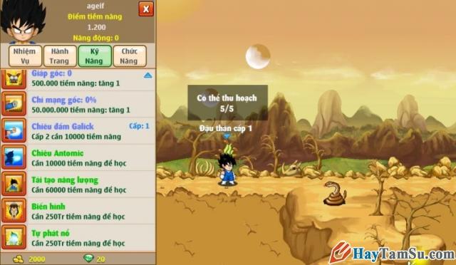 Hình 3 - Giới thiệu game Ngọc rồng online miễn phí