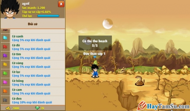 Hình 4 - Giới thiệu game Ngọc rồng online miễn phí