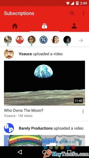 Hình 2 - Tải phần mềm xem Youtube cho điện thoại Android