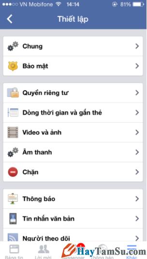 Cách chặn thông báo spam cho Facebook bằng điện thoại + Hình 3