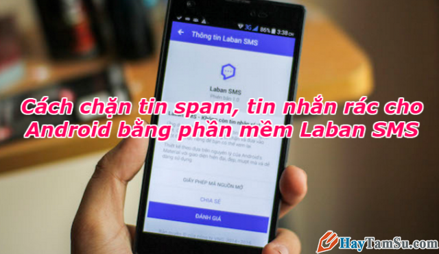 Cách chặn tin nhắn rác, tin quảng cáo trên điện thoại Android