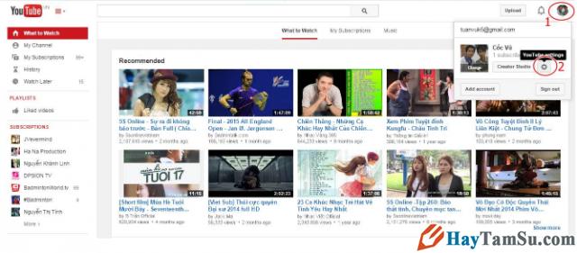 Cách thay đổi ngôn ngữ Youtube sang tiếng Việt cho laptop + Hình 4