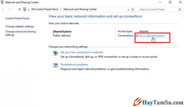 Cách xem mật khẩu Wi-fi trên máy tính cài hệ điều hành Windows 7 + Hình 3