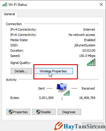 Cách xem mật khẩu Wi-fi trên máy tính cài hệ điều hành Windows 7 + Hình 4