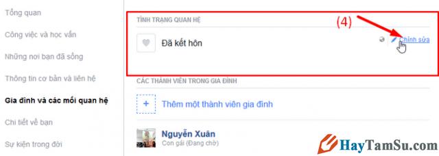 Hướng dẫn chuyển trạng thái đã Ly Thân trên mạng xã hội Facebook + Hình 5