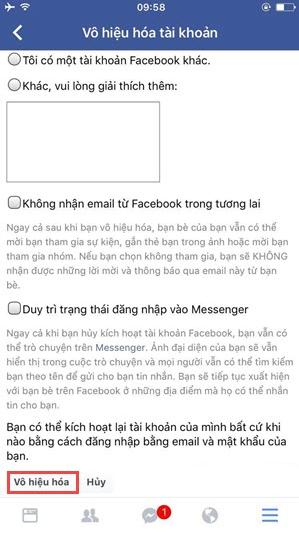Cách xóa tài khoản Facebook vĩnh viễn trên thiết bị di động + Hình 12