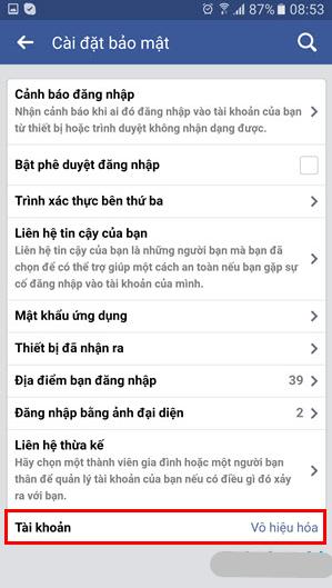 Cách xóa tài khoản Facebook vĩnh viễn trên thiết bị di động + Hình 16