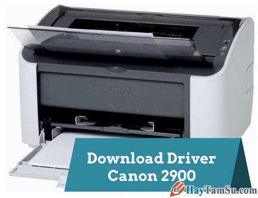 Tải driver cài máy in Canon LBP 2900 cho Windows
