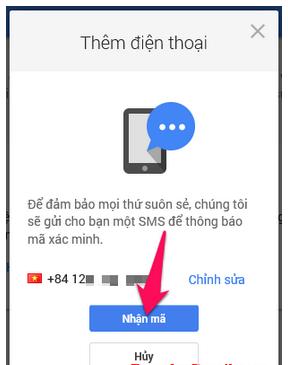 Hướng dẫn Thay đổi và Xóa số điện thoại khôi phục cho tài khoản Gmail + Hình 14