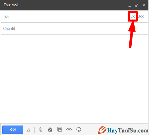 Cách gửi thư email cho nhiều người cùng một thời điểm + Hình 4