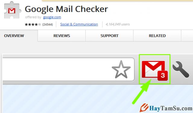 Cài đặt tính năng Kiểm tra thư email mới không phải đăng nhập + Hình 4