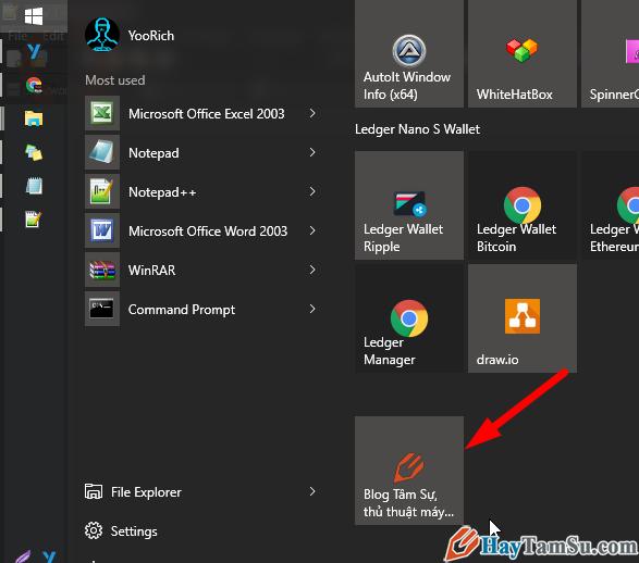 đã sửa lỗi ứng dụng chrome hiện icon