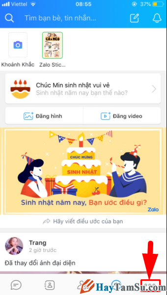 Hướng dẫn đặt mật khẩu cho ứng dụng chat Zalo trên iPhone + Hình 3
