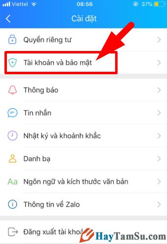 Hướng dẫn đặt mật khẩu cho ứng dụng chat Zalo trên iPhone + Hình 5