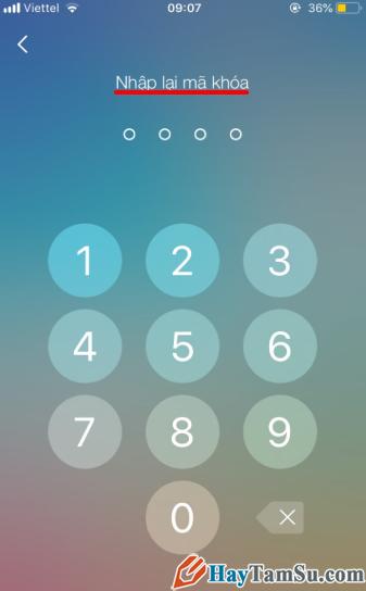 Hướng dẫn đặt mật khẩu cho ứng dụng chat Zalo trên iPhone + Hình 9