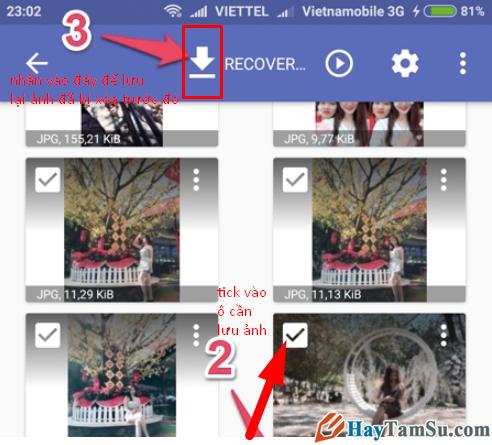 Hướng dẫn lấy lại Ảnh đã xóa trên điện thoại Android với ứng dụng DiskDigger + Hình 7
