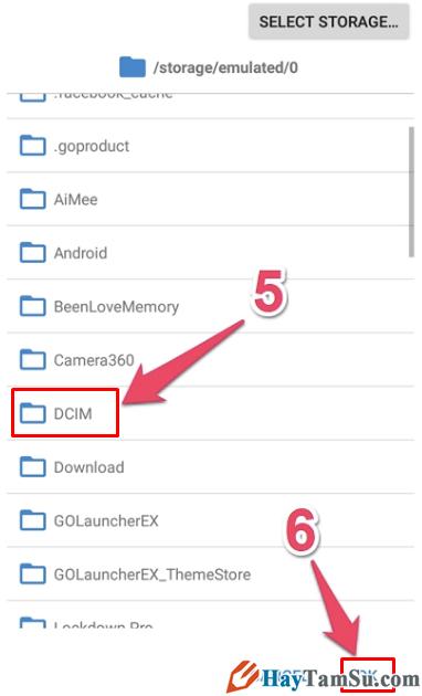 Hướng dẫn lấy lại Ảnh đã xóa trên điện thoại Android với ứng dụng DiskDigger + Hình 9