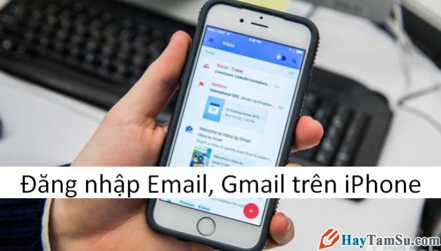 Đăng nhập Gmail trên iPhone không cần ứng dụng Gmail