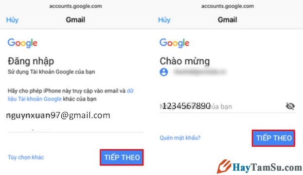 Mách bạn cách đăng nhập Gmail trên thiết bị iOS mà không cần cài ứng dụng + Hình 5