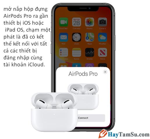 Apple chính thức ra mắt tai nghe AirPods Pro với giá 5,8 triệu VNĐ + Hình 14