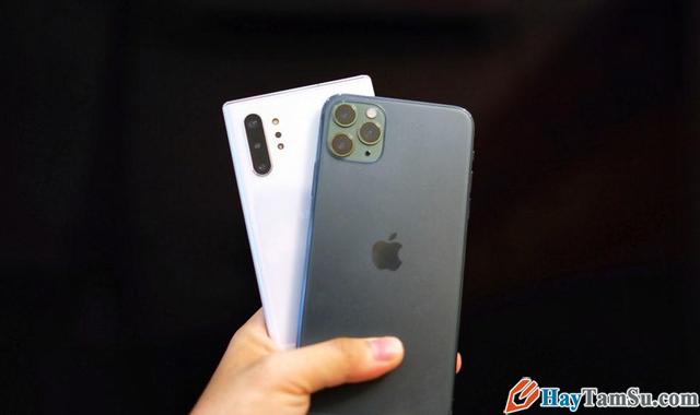 Đọ dáng Camera Samsung Galaxy Note 10+ và iPhone 11 Pro Max + Hình 2