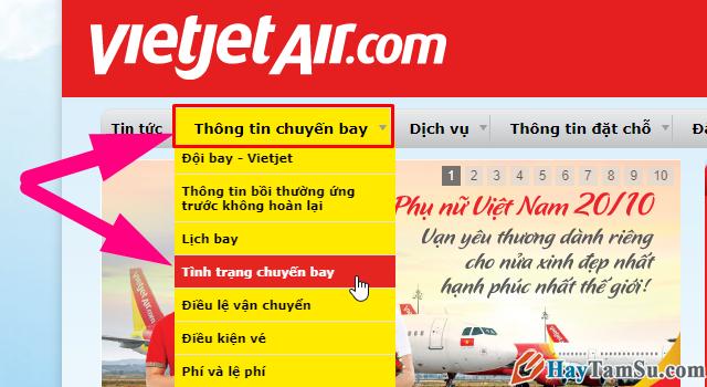 Kiểm tra thông tin chuyến bay Vietnam Airline, Vietjet, Jetstar, Bamboo Airways + Hình 9
