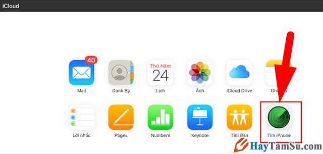 Hướng dẫn tìm Macbook, iPhone bị mất mà không cần internet + Hình 14